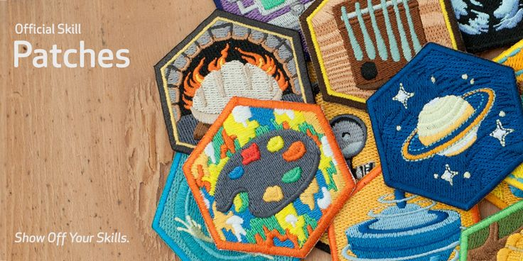 Market - DIY has all sorts of achievement patches at $4 a piece. This is a great resource for my urban pioneers workshop I am organizing locally.
