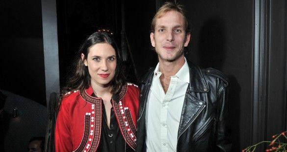 Andrea Casiraghi con Tatiana Santo Domingo (Gtresonline). Gstaad se viste de blanco para la boda real del año