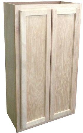 Unique Unfinished Oak Medicine Cabinet