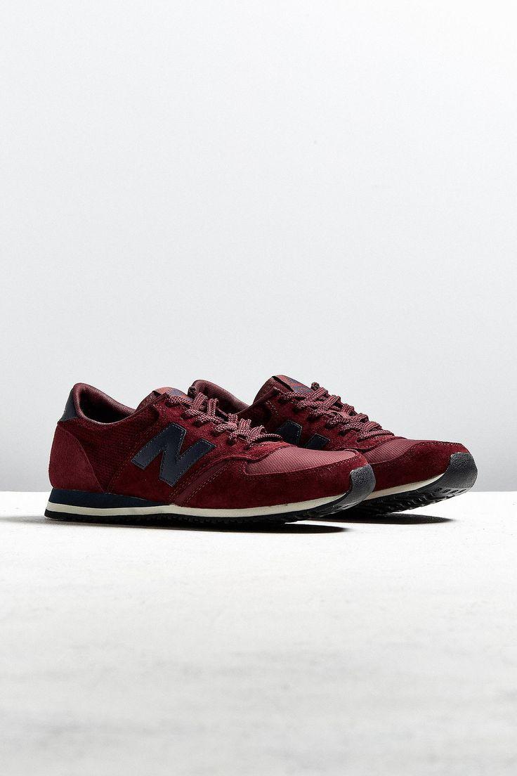 New Balance 420 Burgundy + Navy Sneaker