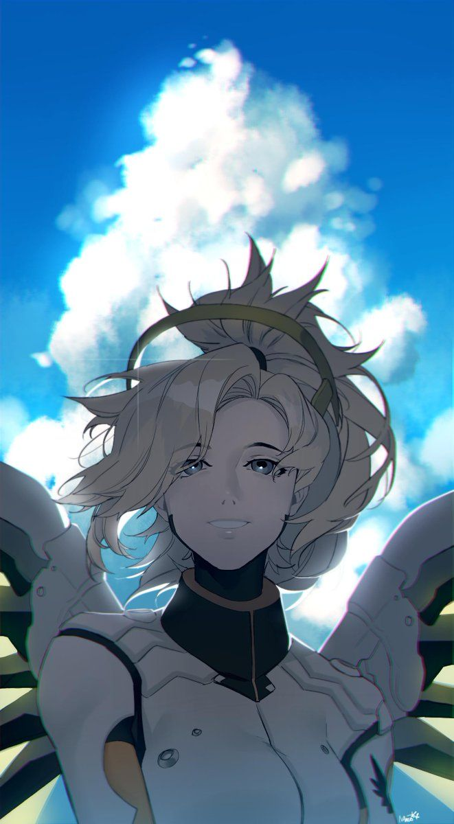 Maro On Twitter Mercy Overwatch Overwatch Wallpapers Overwatch Fan Art