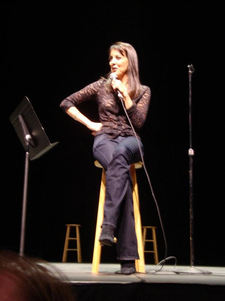 took my son to see Mama in LA. Some morons hacked the venue info & tried to keep us away! Lily T was awesome! My heart belongs to Stephanie Miller.