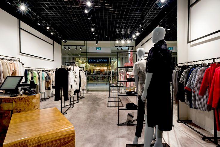 Fashion store lighting, Track Lighting, HEXELINE, Track Light Citizen, oświetlenie sufit rastrowy