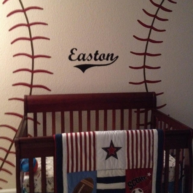 Sports Baby Boy Nursery Ideas: 17 Best Images About Kid's Room On Pinterest