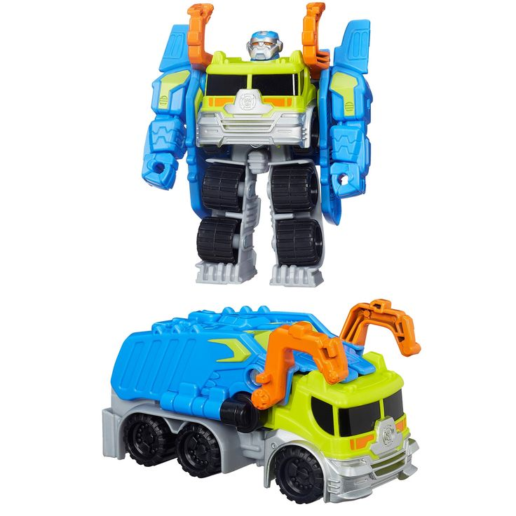 Transformers Rescue Bots Salvage the ConstructionBot Figure Toys