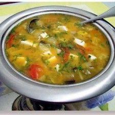 Sopa de legumes para emagrecer- (programa de uma semana)
