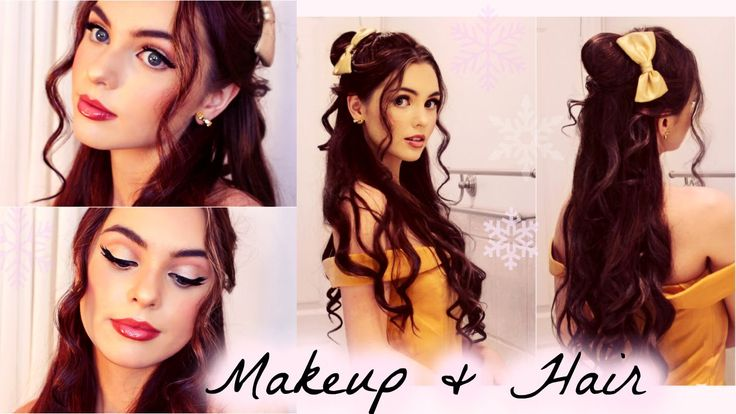 Belle's Hair and Makeup Tutorial | Disney's Beauty & The Beast