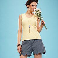 Free Short & Sweet Shorts Pattern Sharon Madsen