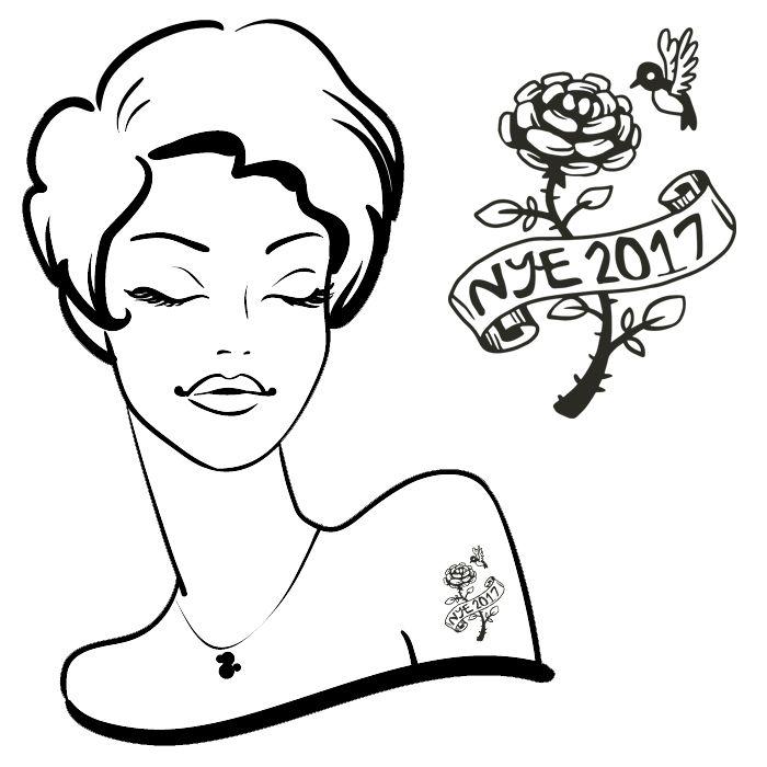 NYE 2017 Tattoo #57 (30 pack)