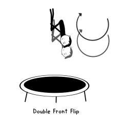 trampoline tricks advanced