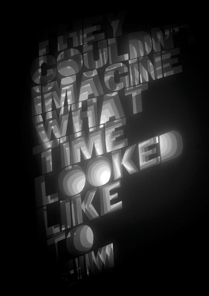 Alida Sayer. Slaughterhouse 5: Type & Form  #Design #Typography