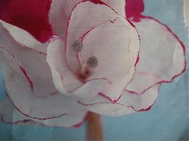Crepepapier bloem maken als decoratie
