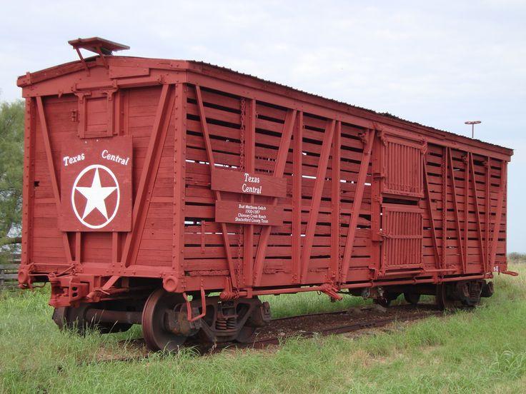 Vagón de tren - Texas