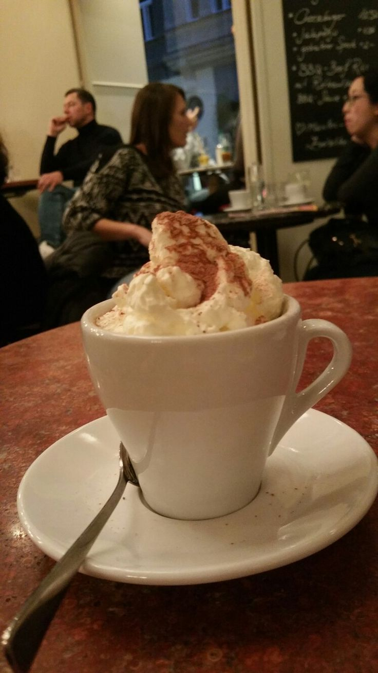 Kaffee mit Schlagobers in Wien 😍