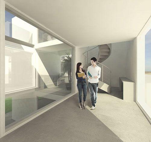 PC1 I blaq architects Ryterna Modul, Lithuania