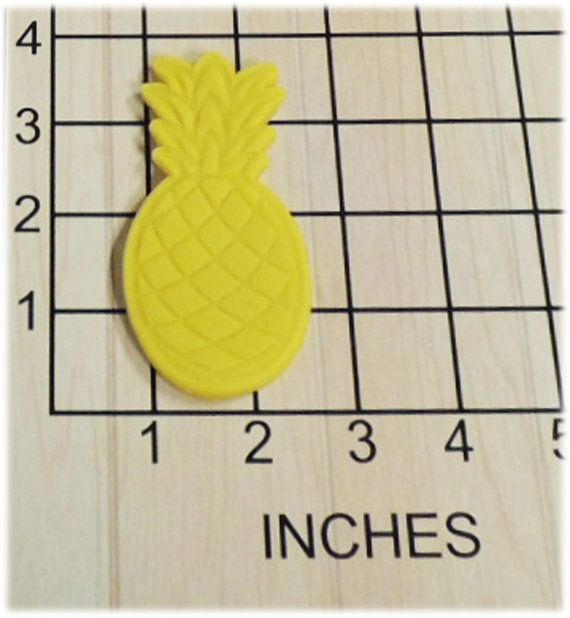 Pineapple Fruit Fondant Cookie Cutter and Stamp 1382