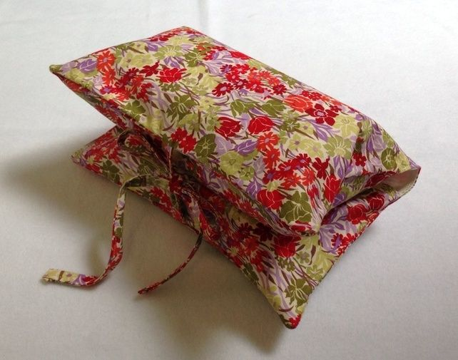 Red & Purple Floral Nappy & Wipes Case £7.50