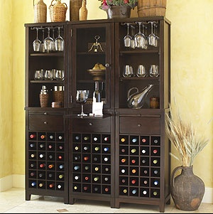 love this wine hutch world market used to carry three look great put together