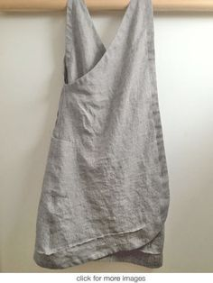 SouthStreetLinen grey mini houndstooth- back