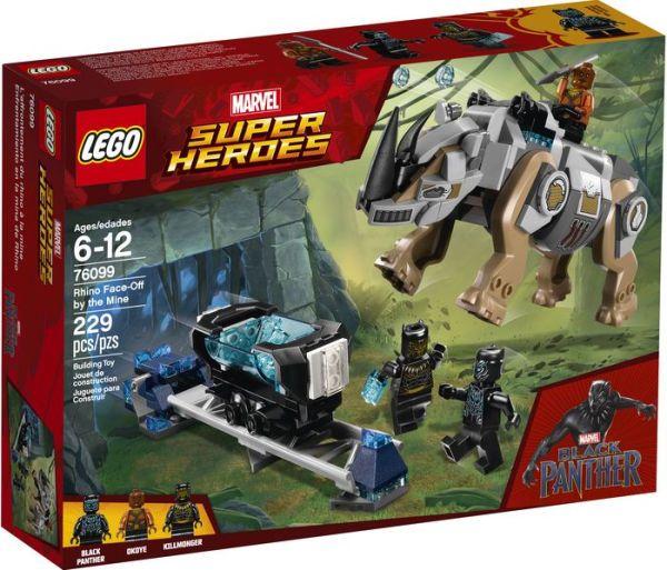 LEGO® Super Heroes Marvel Black Panther 76100 Royal Talon Fighter Attack