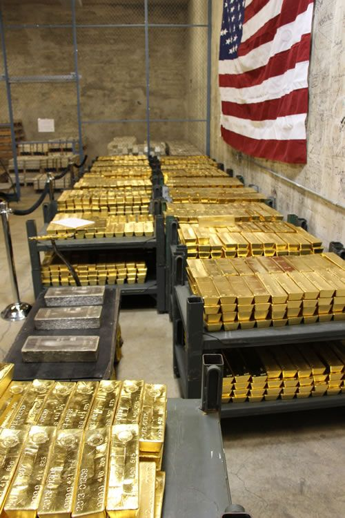 West Point Mint Houses $2.3 Billion in Gold Bars