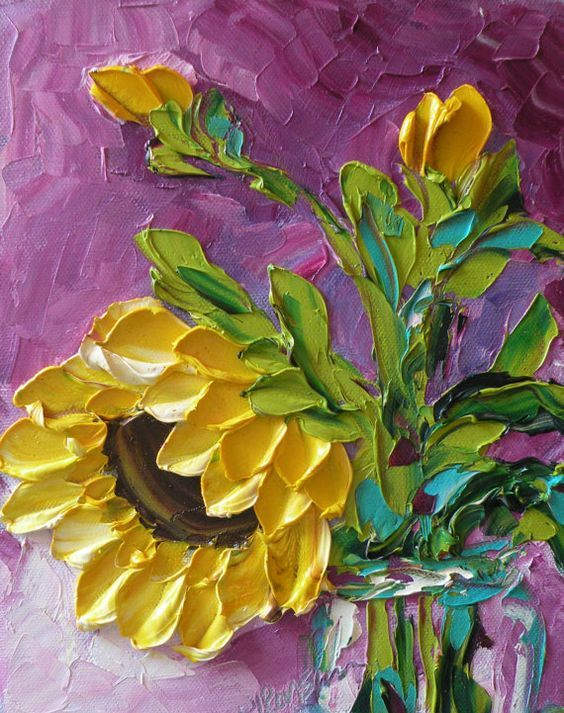 121 best Impasto Paintings images on Pinterest