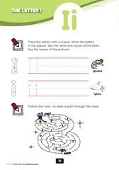 preschool letters of the alphabet worksheets