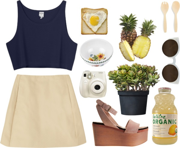 """""""spring picnic"""" by onlybytheocean ❤ liked on Polyvore"""