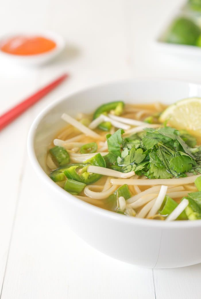 A PHO-nominal vegan spin of this classic Vietnamese noodle soup! :)