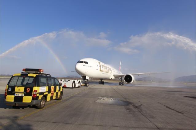 Η Emirates εγκαινίασε τη νέα πτήση προς Νέα Υόρκη μέσω Αθήνας