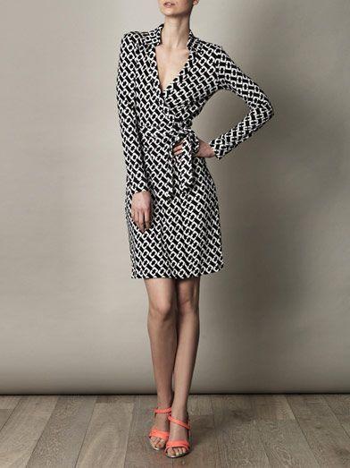 Diane Von Furstenberg wrap dresses  classic, feminine, timeless. Fashion i like | Big Fashion Show wrap dress