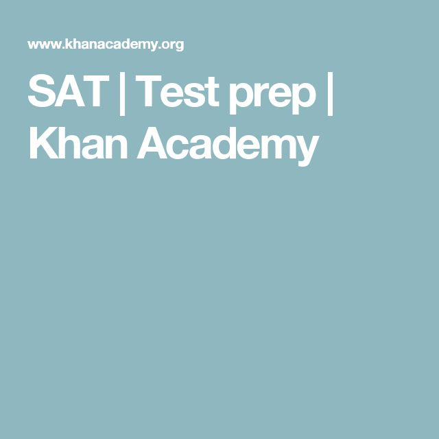 SAT | Test prep | Khan Academy