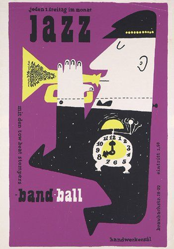 Jazz Band Ball by Hans Michel + Günther Kieser (1957)
