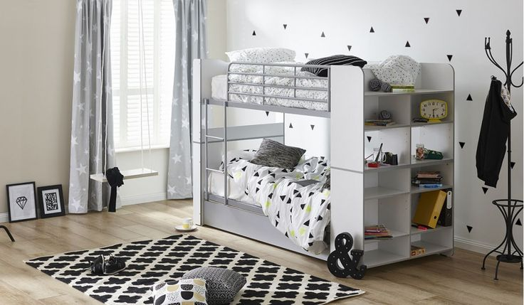 Beautiful Ned single over single bunk bed Top Design - Amazing single bunk bed Unique