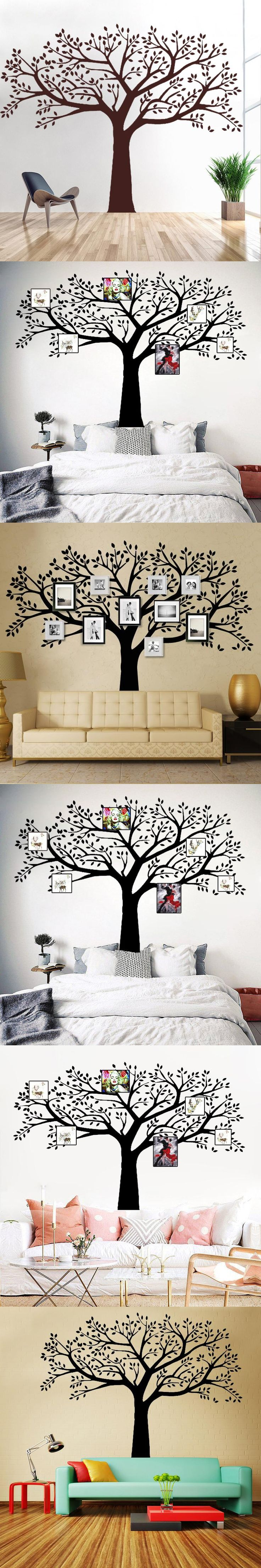Best 25 family tree wall sticker ideas on pinterest wall b16 family tree wall decals vinyl wall decal photo frame tree stickers living room home decor amipublicfo Choice Image