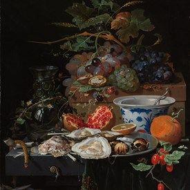 muurdecoratie wanddecoratie schilderij kunst rijksmuseum stilleven met fruit…