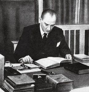 'Atatürk 3 bin 937 kitap okudu'