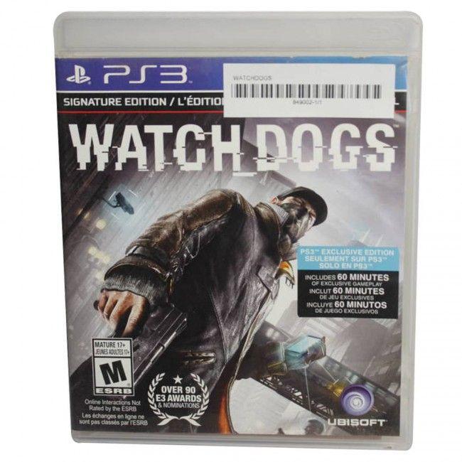 Juego PS3 Watchdogs Original - Juegos de Consola - TV, Consolas y Juegos - Tecnología - Sensacional
