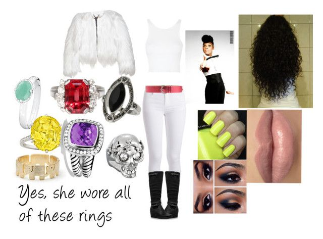 Janelle Monáe - Dance Apocalyptic inspired by chibi-inuzuka on Polyvore featuring polyvore art