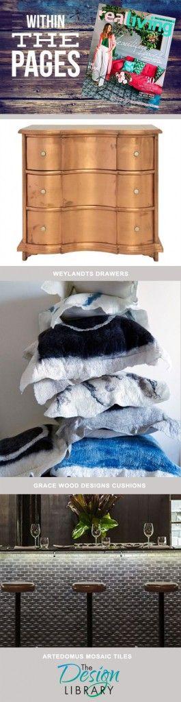 Real Living Magazine April 2015 - Interior design Magazines - designlibrary.com.au