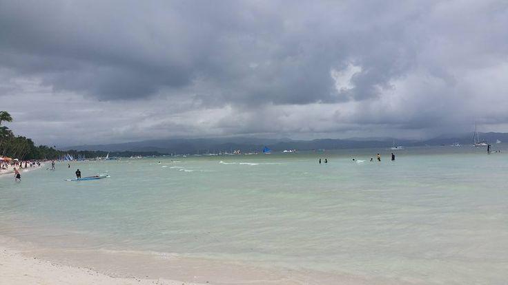 It's a bit gloomy in Bora.  Boracay, Malay, Aklan.