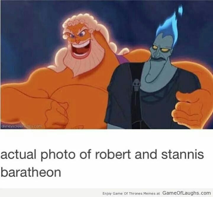 Actual photo of Robert and Stannis Baratheon.. ha ha ha ha ...now who is Renly??// Dionysius, obviously