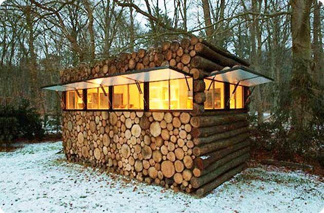 Māja mežā..