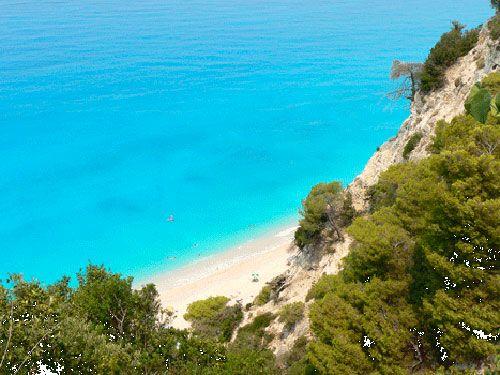 Egremni beach, Lefkada island