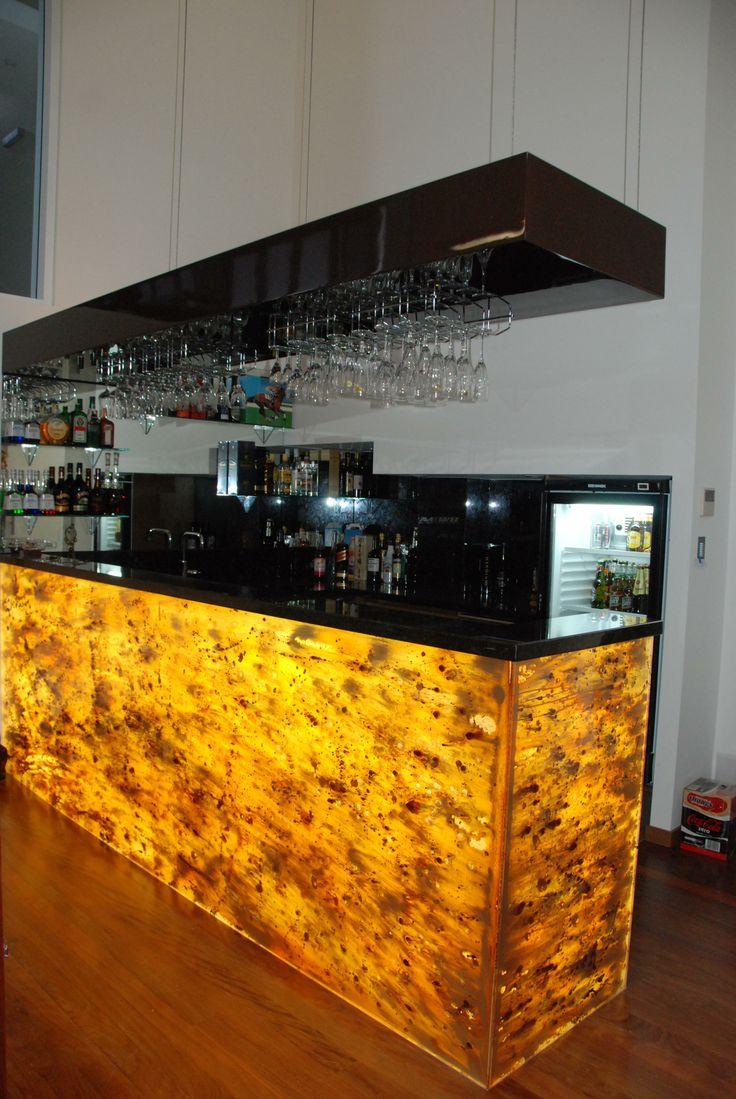 Glass bar fronts - Voodoo Glass, Brisbane -  http://www.voodooglass.com.au