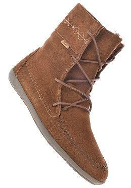 Womens Maraka Boot (Moc Hi Top) brown von VANS
