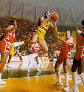 Nick Galis, the legendary Greek basketball player and one of the best European players of all times