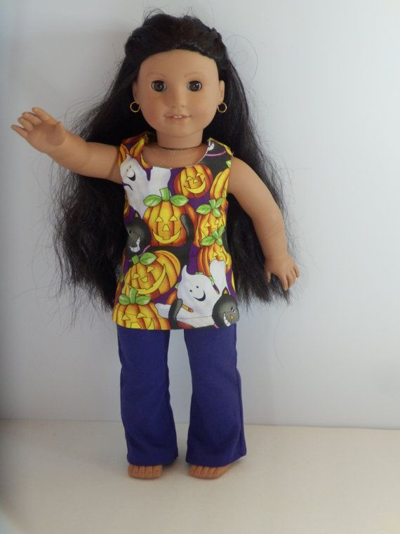 Purple Halloween Outfit Made to Fit Dolls Like by something2do