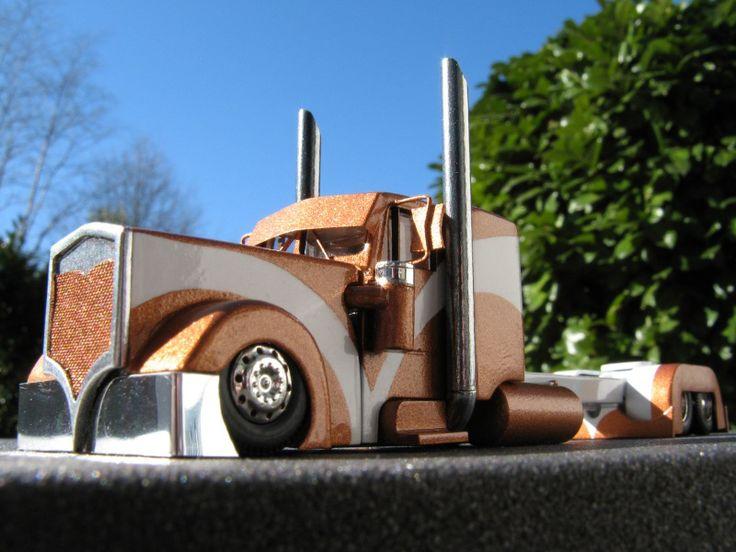 Custom+Kenworth+Trucks | Radical Custom Kenworth W900 Truck Tractor - By Johannes Kamitter