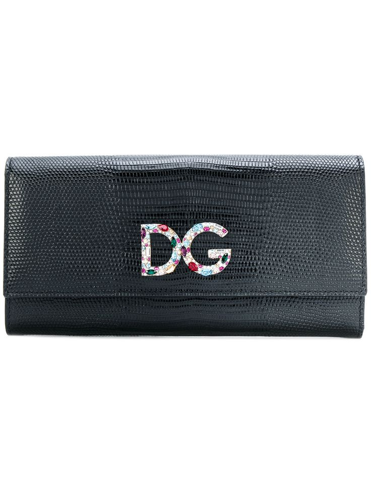 Dolce & Gabbana logo plaque flap purse